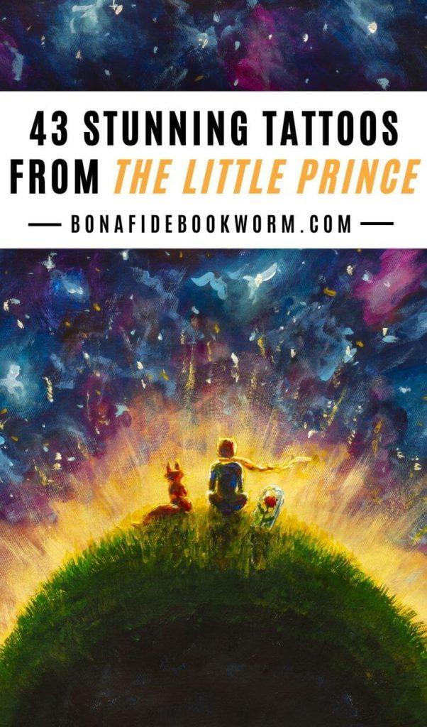 47 Captivating The Little Prince Tattoos Bona Fide Bookworm